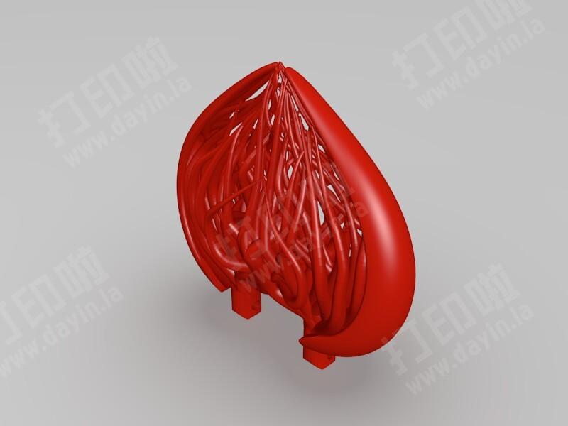 连理-3d打印模型
