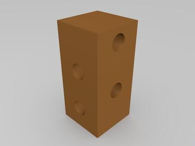底盘连接件-3d打印模型