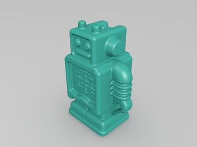 机器人-3d打印模型