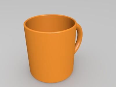 很实用的简约杯子-3d打印模型