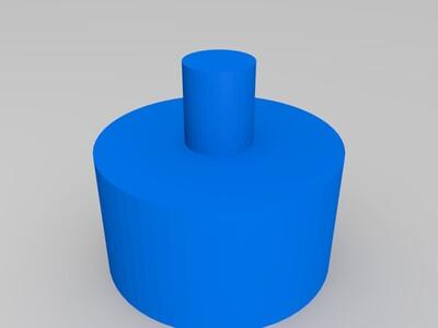 挤出机的弹簧调节-3d打印模型
