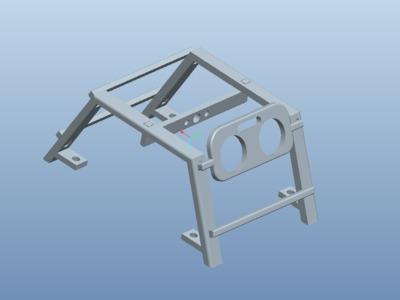 自动变速风扇支架-3d打印模型