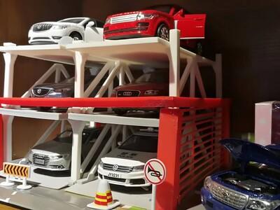 立体车库-3d打印模型