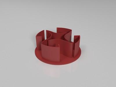 拉丝测试件-3d打印模型
