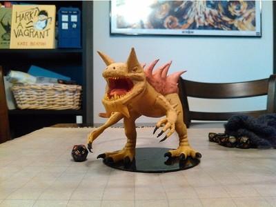 魔龙-3d打印模型