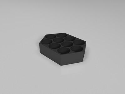 螺丝刀底座-3d打印模型