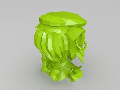 陈嘟嘟-3d打印模型