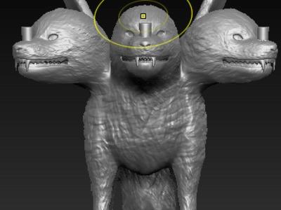 佩恩通灵兽-3d打印模型