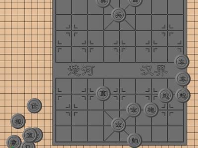 全套象棋加棋盘-3d打印模型