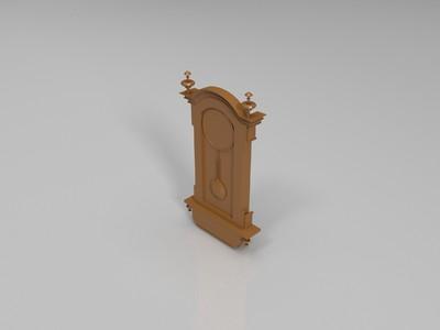吊钟-3d打印模型