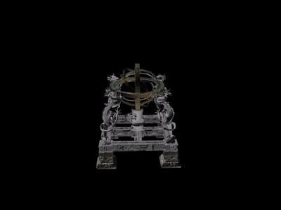 浑天仪-3d打印模型