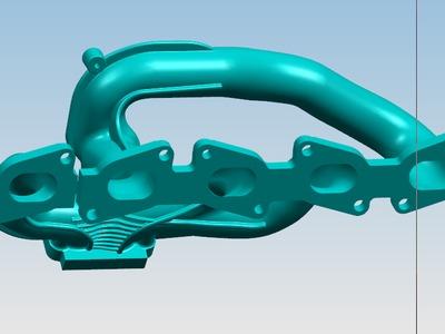 排气芭蕉-3d打印模型