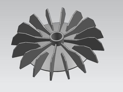 风叶-3d打印模型