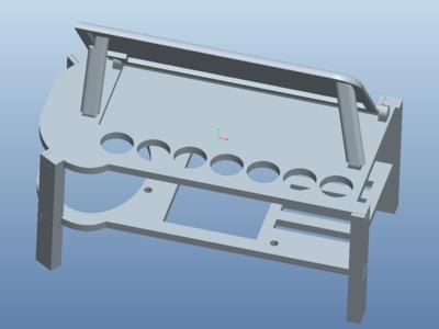 智能电子琴-3d打印模型