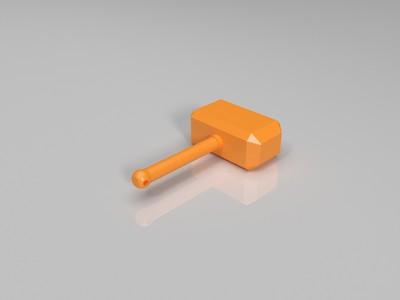 小型雷神之锤-3d打印模型