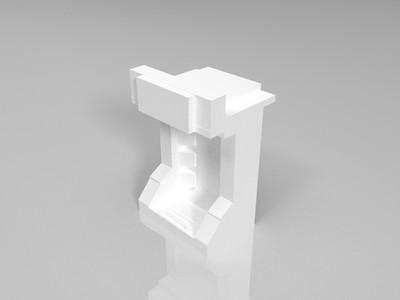 积木人偶-3d打印模型