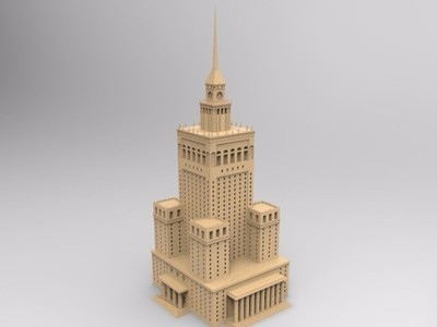 宫殿-3d打印模型