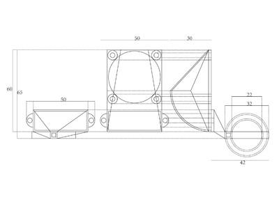 I3-3D打印机40x40散热风扇架-3d打印模型