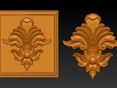 雕花5-3d打印模型