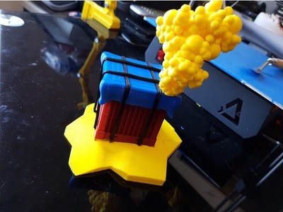 空投-3d打印模型