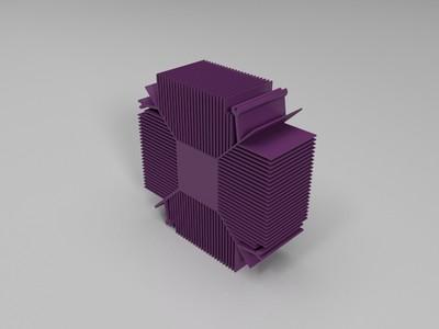 散热片-3d打印模型