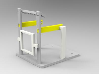 人体感应风扇-3d打印模型
