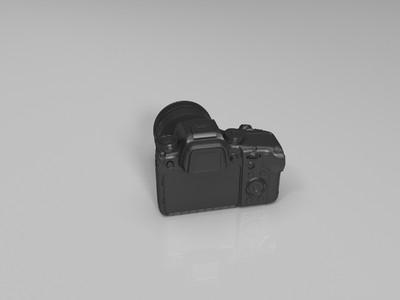 三星NX1相机-3d打印模型