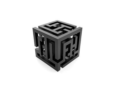 迷宫灯-3d打印模型