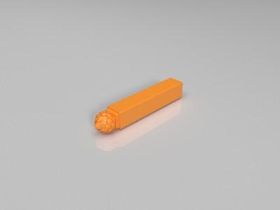 莲花柱头-3d打印模型