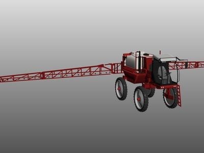 播种机、喷药机-3d打印模型