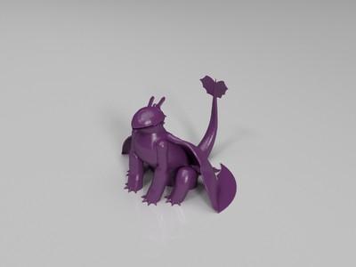驯龙高手 无牙-3d打印模型