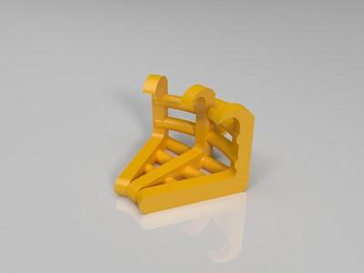 三角开瓶器-3d打印模型