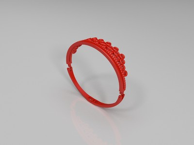 手镯套装-3d打印模型