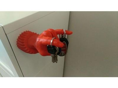 钥匙挂钩-3d打印模型