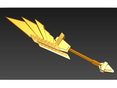 至尊巨剑-3d打印模型
