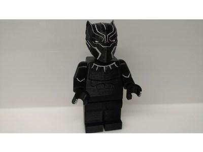 乐高黑豹-3d打印模型