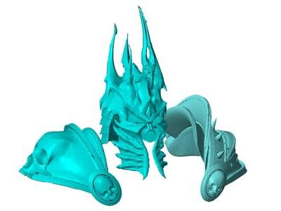 巫妖王铠甲-3d打印模型