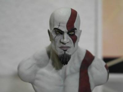 《战神》--奎托斯半身像-3d打印模型