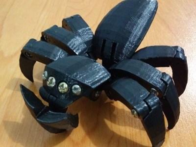蜘蛛蛋-3d打印模型