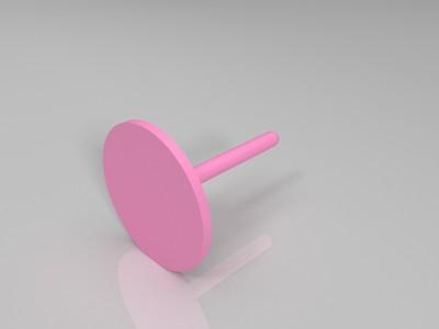 旋转笔筒-3d打印模型