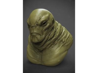 怪物胖子-3d打印模型