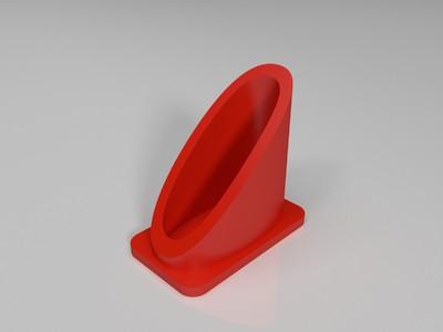挪车牌-3d打印模型