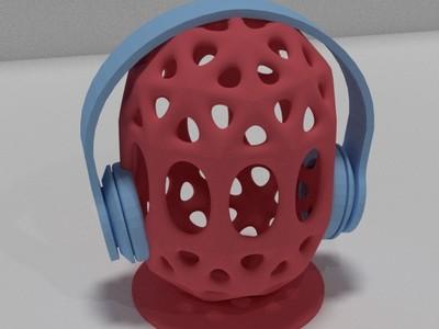 耳机支架-3d打印模型