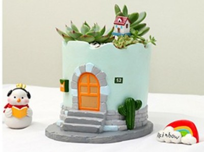 创意花盆—伊亚小屋-3d打印模型