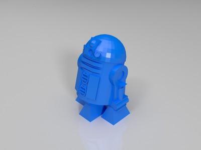 单里的机器人-3d打印模型