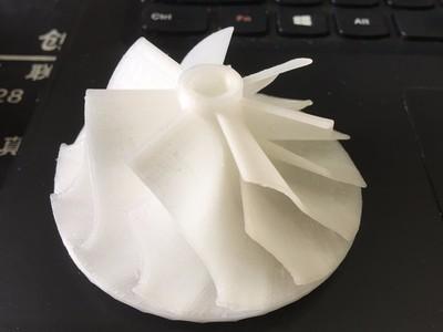 涡轮扩压叶片-3d打印模型