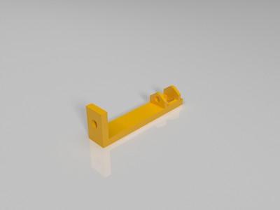 Solidoodle电缆链-辅助架-3d打印模型