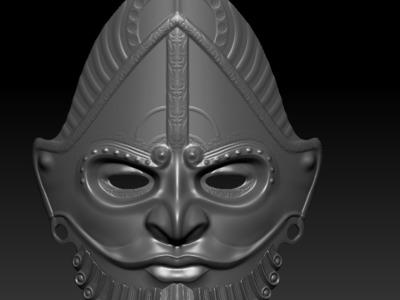 面具-3d打印模型