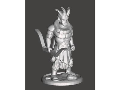 怪物-3d打印模型