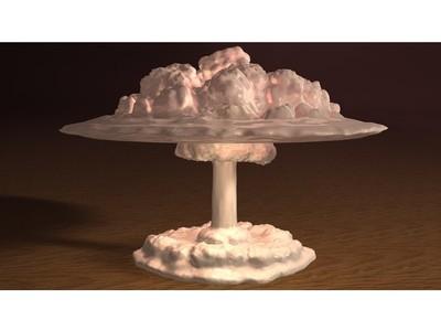 原子弹LED灯-3d打印模型